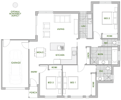 efficient home floor plans the callistemon home design is built with comfort and style in