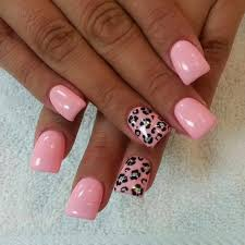led polish manicure in ombre on the natural nails classic french