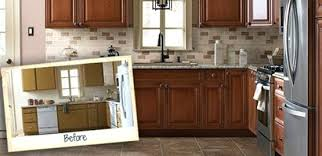 cost to resurface kitchen cabinets kitchen cabinet refinishing before and after pictures