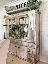 ten beautiful farmhouse style hutches little glass jar