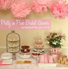 pretty in pink bridal shower smashed peas u0026 carrots
