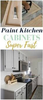 how to paint cabinets fast how to paint kitchen cabinets tips to get the smoothest
