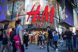 h m hits the wall bloomberg