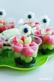 planning your own garden party for spring fruit cups cups and