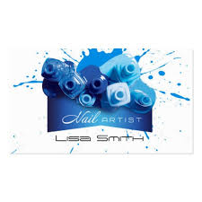 nail artist business card business card templates bizcardstudio