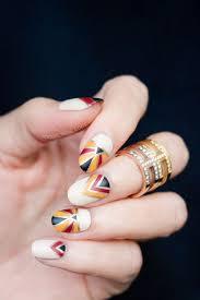 best 20 art deco nails ideas on pinterest triangle nail art