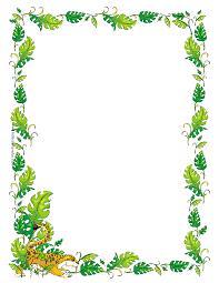 summer writing paper template jungle theme border clipart 2018595 jungle theme border clipart 2018595