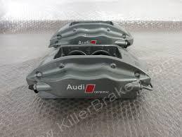 Audi R8 Upgrades - audi r8 4 pot brembo ceramic rear brake calipers 420615408e
