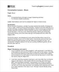 music lesson plan music teacher lesson plan template free pdf