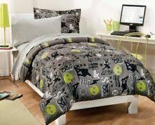 Comforter Set With Sheets Skateboard Bedding Ebay