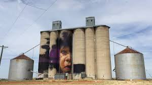 sheep hills silos painted photos videos the wimmera mail times