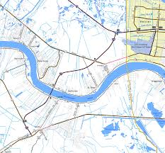 Map Of Road Closures In Louisiana by Interstate Guide Interstate 310 Louisiana