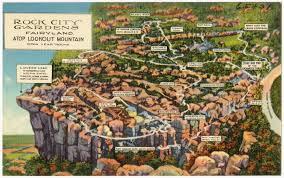 Rock City Gardens Lookout Mountain Ga File Rock City Gardens Fairyland Atop Lookout Mountain Open