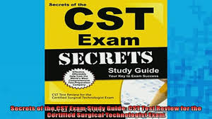 free download secrets of the cst exam study guide cst test review