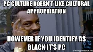 pc culture doesn t like cultural appropriation however if you