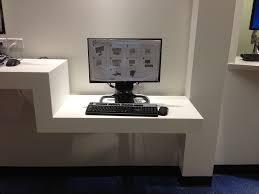 floating desk design modern floating desk thediapercake home trend