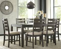 Brown Dining Room Signature Design By Ashley Rokane 7 Piece Dining Set Reviews