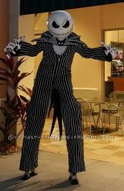Jack Pumpkin King Halloween Costume Jack Skellington Costume