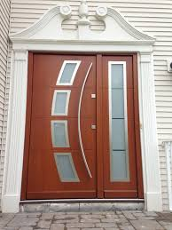 model 041 custom meranti wood exterior door modern home luxury