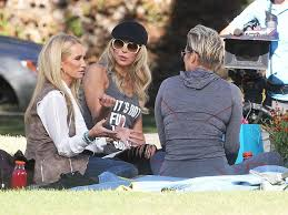 kim richards films real housewives of beverly hills with brandi