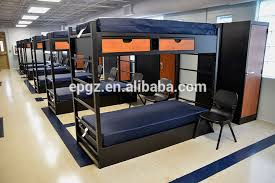 Dormitory Bunk Beds College School Furniture Dormitory Student Deck Bed With