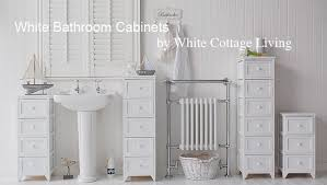 White Freestanding Bathroom Storage Chic White Bathroom Storage Cabinet Bathroom Storage Cabinets