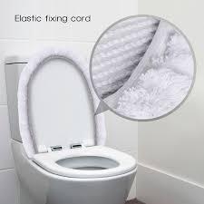 Bathroom Contour Rugs Lifewit 3pcs Bathroom Rugs Set Soft White Lid Cover Bath Mat