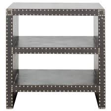 Grey Side Table Safavieh Lacey Grey Side Table Fox9502a The Home Depot