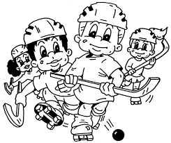 hockey coloring pages for kids coloring page