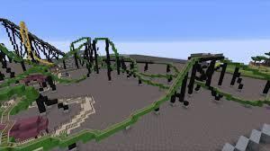 Six Flags Great Adventure Map Minecraft Six Flags Great Adventure Update 2 Youtube