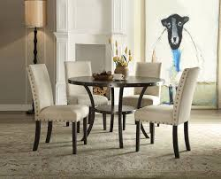 acme furniture hadas 5 piece dining set u0026 reviews wayfair