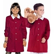tablier bleu marine blouse école maternelle rouge pas cher 14 58 u20acht lisavet