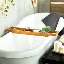 umbra aquala bathtub caddy bath caddy canada 4 umbra aquala walnut bamboo bathtub endearing
