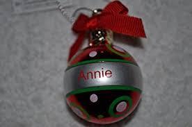 ganz personalized ornament