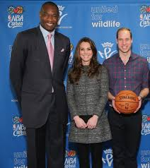 prince william and princess kate are not as tall as dikembe