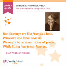 Famous Thanksgiving Poem Thanksgiving Poems By Famous Poets Mypoems Co