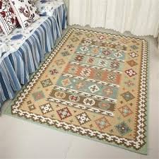 Geometric Area Rug Geometric Area Rug For Living Room Home Bedroom Rugs And