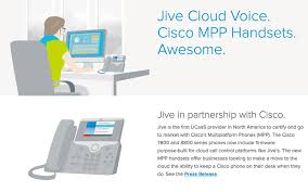 Cisco Desk Phone Jive And Cisco Smart Desk Phones For A Smart Cloud Platform Getvoip