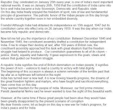 republic day essay in punjabi essay on republic