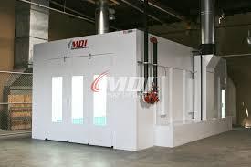 Spray Booth Ventilation System Mdi Spray Systems Pomona California Ca 91766
