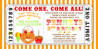 fall carnival printable ticket invite dimple prints shop