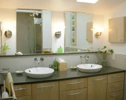 White Bathroom Decorating Ideas Bathroom Elegant Frameless Bathroom Mirrors For Outstanding