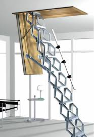 electric attic ladder columbus electric ladder attic group