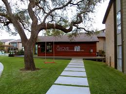 the grove apartments modern austin large scale landscape design
