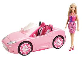 Barbie Glam Bathroom by Barbie Glam Auto With Barbie Amazon Co Uk Toys U0026 Games