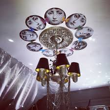 fun diy fornasetti decoupage ceiling design for the rock star glam