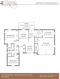 chateau floor plans chateau girardeau the chateau estates