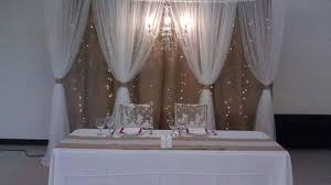 tulle backdrop burlap tulle backdrop with chandelier lighting inspiration