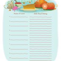 printable thanksgiving potluck sign up sheets happy thanksgiving