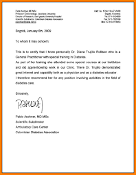 medical recommendation letter choice image letter samples